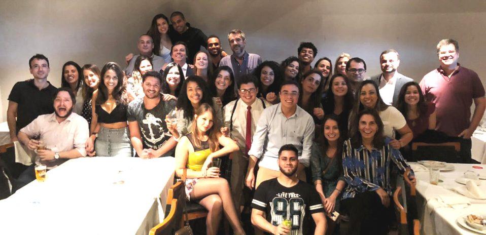 Festa de confraternização de fim de ano Escritório Capanema e Belmonte Advogados