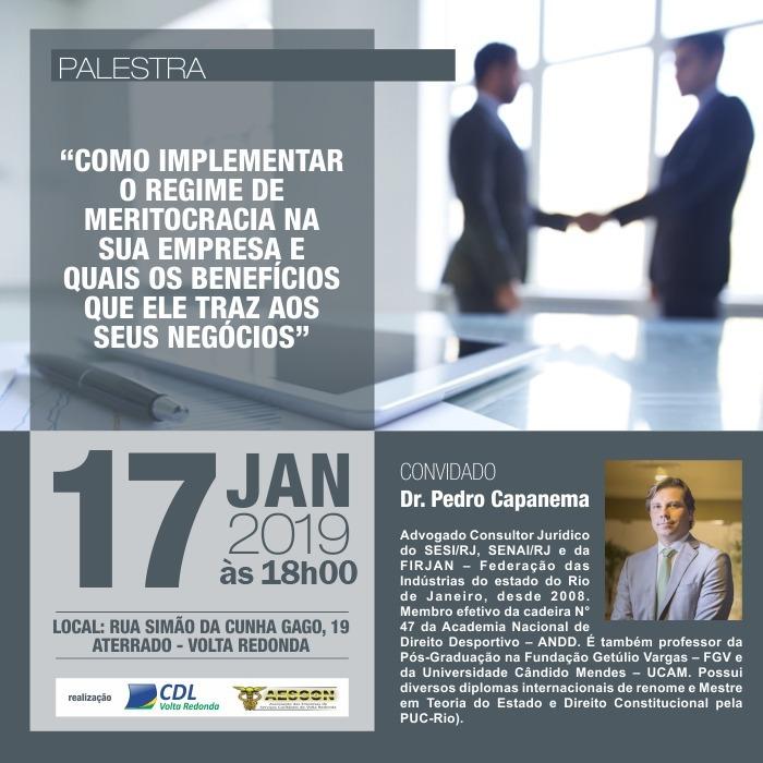 Palestra Pedro Capanema - Capanema e Belmonte Advogados